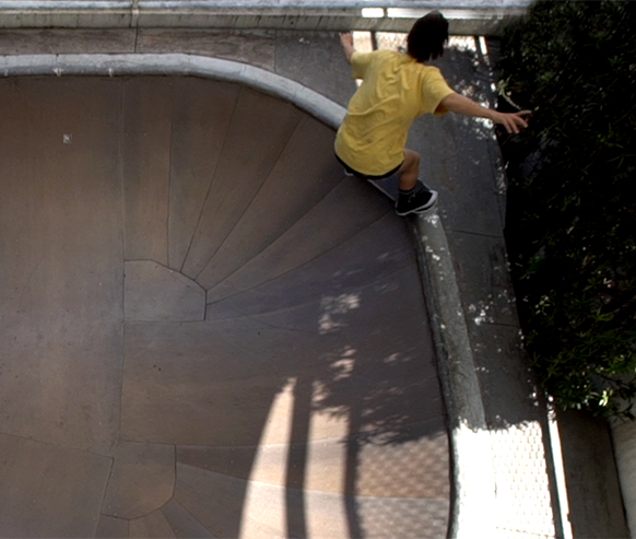 Skate é diversão, transformação e resistência